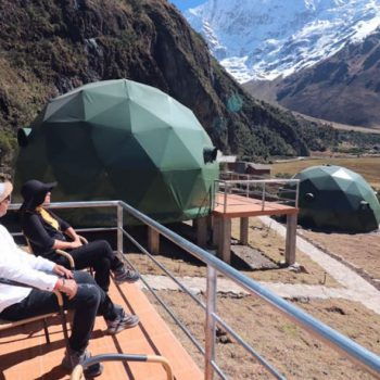 Salkantay Dome to Dome to Machupicchu 4D/3N By Train